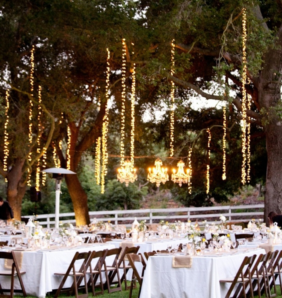 Magical Wedding With Norsis Copper Wire Fairy String Lights Norsis